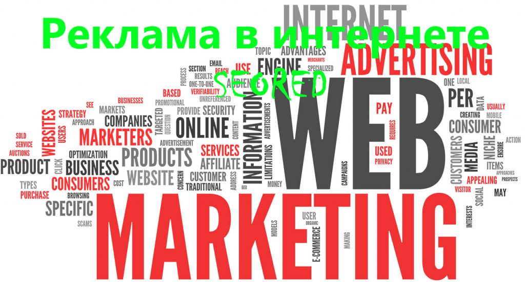 Реклама в интернете SEORED